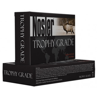 Nosler Trophy Grade Varmint Rifle Ammunition .22-250 Rem 55 gr BTVS 3700 fps - 20/box