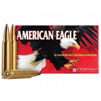 Federal American Eagle Rifle Ammunition 7.62x39 124 gr FMJ 2350 fps - 20/box