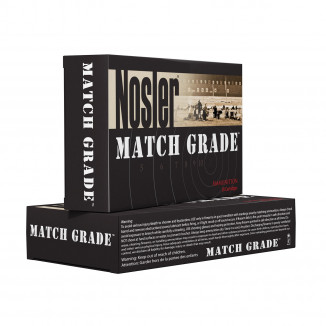 Nosler Match Grade Rifle Ammunition .223 Rem 69 gr HPBT 2700 fps - 20/box