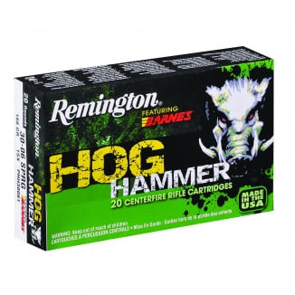 Remington Hog Hammer Rifle Ammunition .30-30 Win 150 gr TSX 2335 fps - 20/box