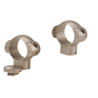 """Redfield 2-Piece Steel Rotary Dovetail Scope Rings 1"""" - High (STD R EXT F) - Nickel"""