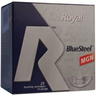 "Rio Royal Blue Steel 12ga 3"" 1-1/8oz BB 25/box"