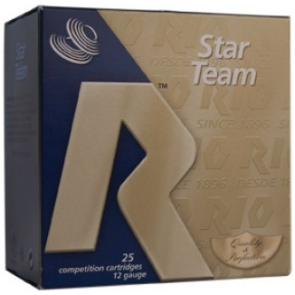 "Rio Star Team 12 ga 2 3/4"" MAX 1 oz #8 1315 fps - 25/box"