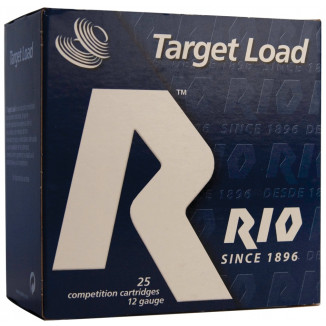 "Rio Target Load Trap 12 ga 2 3/4"" 2 1/2 dr 7/8 oz #8 1200 fps - 25/box"