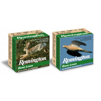 "Remington Lead Game Load 12 ga 2 3/4"" 3 1/4 dr 1 oz #8 1290 fps - 25/box"