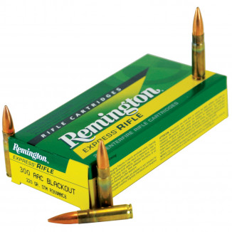 Remington Rifle Ammunition .300 AAC Blackout 220 gr OTM 20/ct
