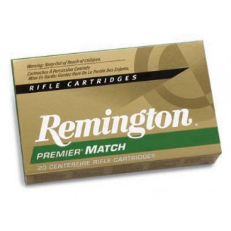 Remington Premier Match Rifle Ammunition .223 Rem 62 gr HP 3025 fps - 20/box