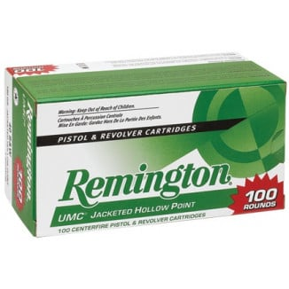 Remington UMC Handgun Ammunition .40 S&W 180 gr FMJ  100/box