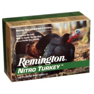"Remington Nitro Turkey 12 ga 3"" MAX 7/8 oz #4 1210 fps - 10/box"