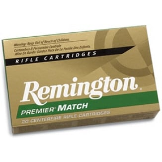 Remington Rifle Ammunition 6.8 SPC 115 gr BTHP 2625 fps - 20/box