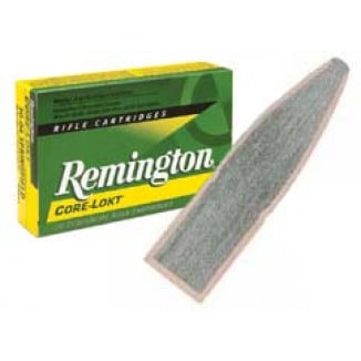 Remington Core-Lokt Rifle Ammunition .270 Win 130 gr PSP 3060 fps - 20/box