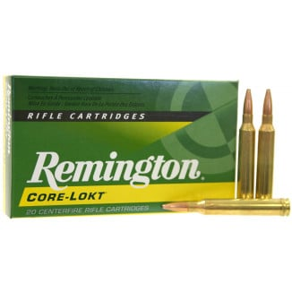 Remington Core-Lokt Rifle Ammunition .280 Rem 140 gr PSP 3000 fps - 20/box