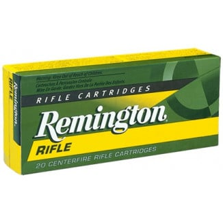 Remington Rifle Ammunition .250 Savage 100 gr PSP 2820 fps - 20/box