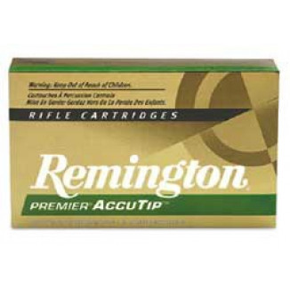 Remington Premier AccuTip Varmint Rifle Ammunition .223 Rem 50 gr ATV-BT - 3410 fps
