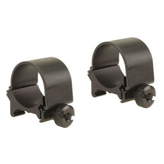 "Weaver Detachable Top Mount Aluminum Scope Rings 1"" Low - Matte"