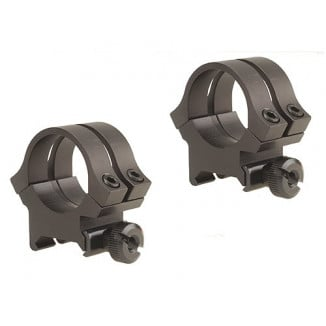 "Weaver Quad Lock Detachable Scope Rings 1"" High, Matte"