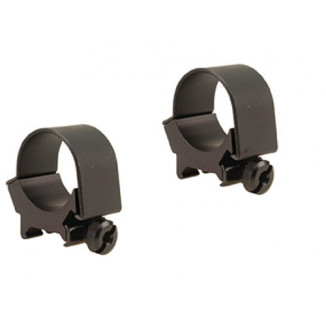 Weaver Detachable Top Mount Aluminum Scope Rings 30mm Low - Matte