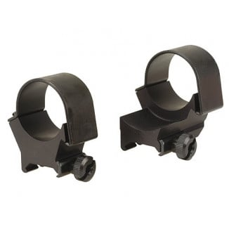 Weaver Detachable Extension Top Mount Aluminum Scope Rings - 30mm High EXT, Matte