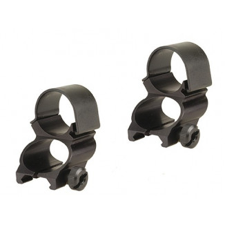 "Weaver Detachable See-Thru Scope Rings - 1"" Extension -Black"