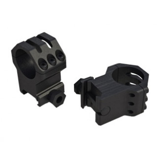"""Weaver 6-Hole Picatinny Tactical Scope Rings 1"""" High"""