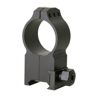 "Warne Maxima Tactical Fixed Rings - 1"" Extra-High, Matte"