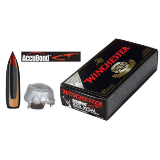 Winchester AccuBond CT Rifle Ammunition .325 WSM 200 gr AB 2950 fps - 20/box