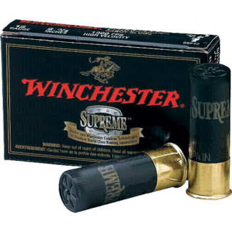"Winchester Double X High-Velocity Buckshot 12 ga 2 3/4""  9 plts #00 1450 fps - 5/box"