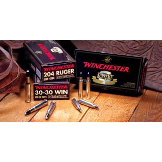 Winchester Ballistic Silvertip Rifle Ammunition 7mm Rem Mag 140 gr BST 3110 fps - 20/ct