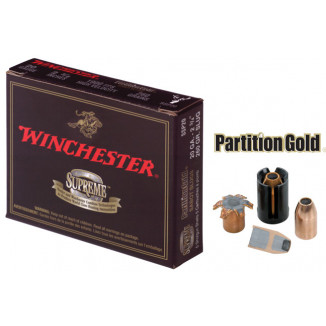 "Winchester Supreme Partition Gold Slug 20 ga 3""  260 gr Slug 1850 fps - 5/box"