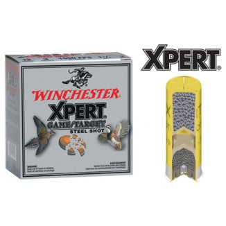 "Winchester Xpert Steel 20 ga 2 3/4""  3/4 oz #6 1325 fps - 25/box"