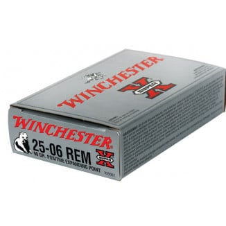 Winchester Super-X Rifle Ammunition .25-06 Rem 90 gr PEP 3440 fps - 20/box