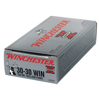 Winchester Super-X Rifle Ammunition .30-30 Win 150 gr HP 2390 fps - 20/box