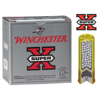 "Winchester Super-X Drylok Super Steel 20 ga 3"" MAX 1 oz #4 1300 fps - 25/box"