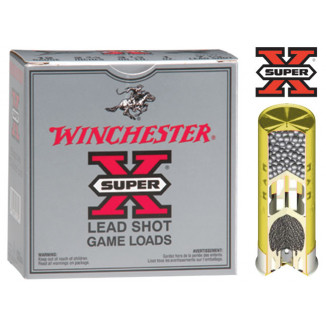 "Winchester Super-X Game 20 ga 2 3/4"" 2 1/2 dr 7/8 oz #6 1210 fps - 25/box"