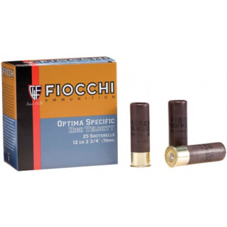 "Fiocchi High-Velocity Hunting Load 12 ga 3"" MAX 1 3/4 oz #5 1330 fps - 25/box"