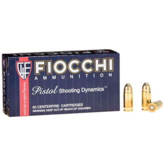 Fiocchi Pistol Shooting Dynamics Handgun Ammunition .32 ACP 73 gr FMJ 1000 fps 50/box