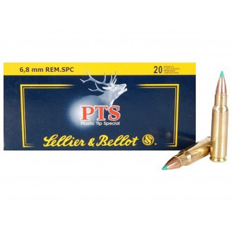 Sellier & Bellot Rifle Ammunition 6.8mm 110 gr PTS 2550 fps - 20/box