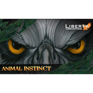 Liberty Animal Instinct Rifle Ammunition .300 AAC Blackout 100 gr SCHP 20/ct