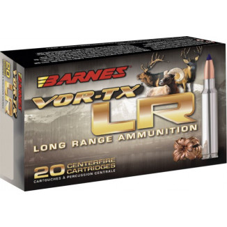 Barnes VOR-TX Long Range Rifle Ammunition .338 Rem Ultra Mag 250 gr LRX-BT 2910 fps 20/ct