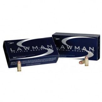 Speer Lawman Handgun Ammunition 9mm Luger 124 gr TMJ 1090 fps 50/ct