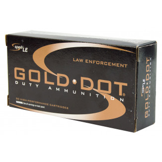 Speer Gold Dot Handgun Ammunition 9mm Luger 115 gr HP  50/box