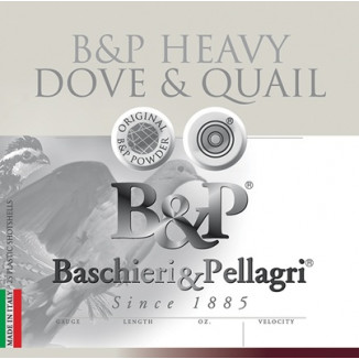 B&P Dove & Quail Shotshells- 28 ga 2-3/4 In 15/16 oz #8 1300 fps 25/ct