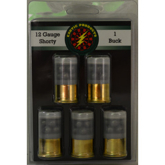 Exotic Shorty Shotshells 12 ga 1-3/4 in 1175 fps #1 Buck