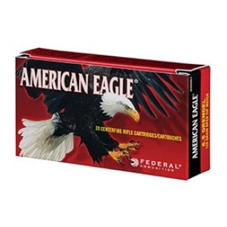 Federal American Eagle Rifle Ammunition .223 55 gr FMJ 100/bag 12500 RNDS