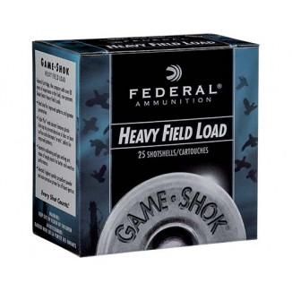 "Federal Game-Shok Heavy Field Load Shotshells 28ga  2-3/4"" 1 oz #6 1220 fps 25/ct"