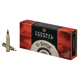 Federal Premium V-Shok Rifle Ammunition .204 Ruger 40 gr BT 3650 fps - 20/box