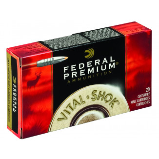 Federal Premium Vital-Shok Trophy Bonded Tip Rifle Ammunition .223 Rem 62 gr Bond Tipped  20/box