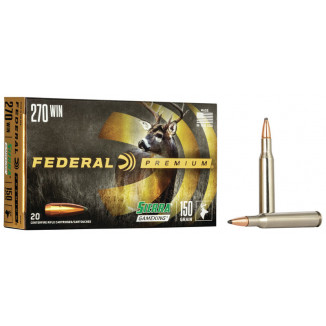 Federal Premium Sierra GameKing Rifle Ammunition .270 Win 150 gr BTSP 2830 fps 20/ct
