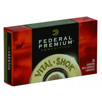 Federal Premium Vital-Shok Trophy Copper Rifle Ammunition .30-30 Win 150 gr Poly Tip  20/box