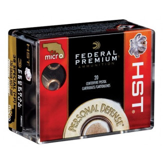 Federal Premium Personal Defense HST Handgun Ammunition .38 Spl (+P) 130gr JHP 20/ct